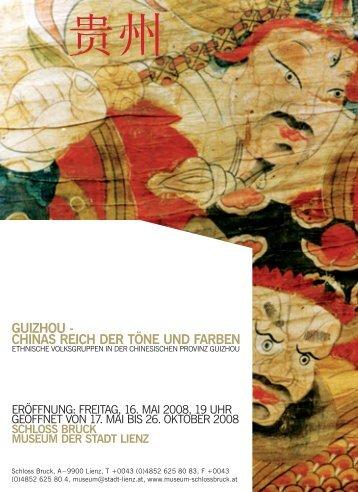 GUIZHOU - CHINAS REICH DER TöNE UND FARBEN - Lienz