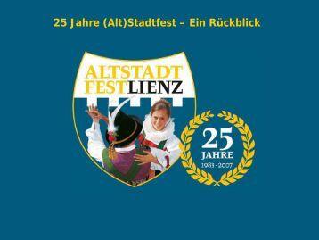 25 Jahre (Alt)Stadtfest