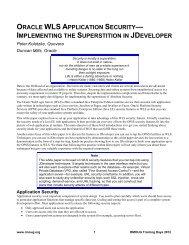 Feature Matrix for Oracle WebLogic Server Standard Edition