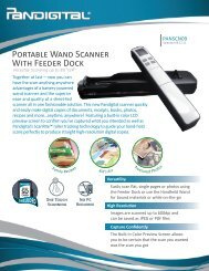 Portable Wand Scanner With Feeder Dock - QVC.com