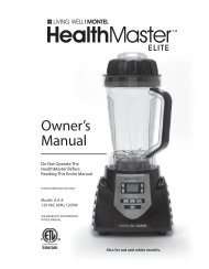 Owner's Manual - QVC.com