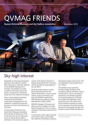 QVMAG FRIENDS - Queen Victoria Museum and Art Gallery