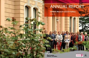 annual report - Queen Victoria Museum and Art Gallery