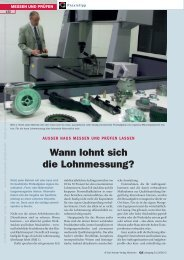 Wann lohnt sich die Lohnmessung? - QZ-online.de