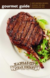 219443 KC Steak gourmet guide - QVC.com