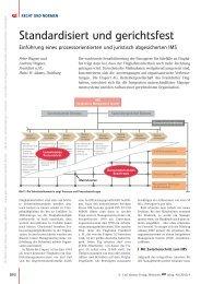 Standardisiert und gerichtsfest - QZ-online.de