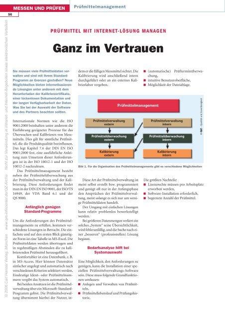 Ganz im Vertrauen - QZ-online.de