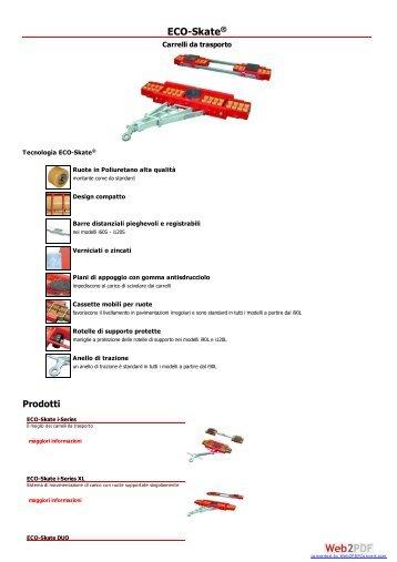 Cast snc - Sezione Carrelli da trasporto - Attollo