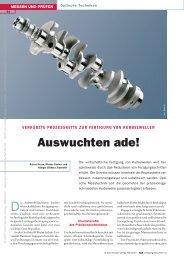 Auswuchten ade! - QZ-online.de
