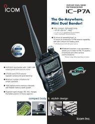 The Go-Anywhere, Mini Dual Bander! - R-One Trading Pte Ltd