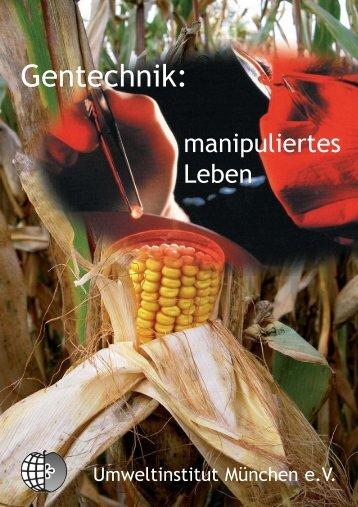 Gentechnik: manipuliertes Leben