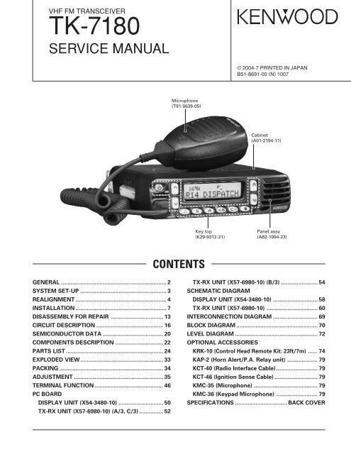 Kenwood TK-7180 - KO4BB's Home Page