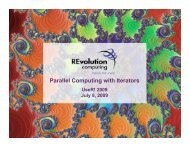 Parallel Computing with Iterators - The R Project for Statistical ...