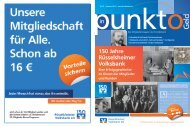 Nr. 22 Sommer 2013 - Rüsselsheimer Volksbank eG