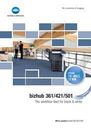 bizhub 361/421/501 - Capture Imaging