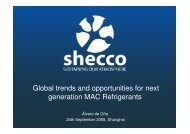 Global trends and opportunities for next generation MAC Refrigerants