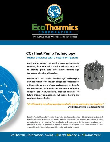 EcoThermics - CO2 Heat Pump Technology