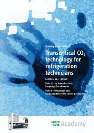 Transcritical CO technology for refrigeration technicians