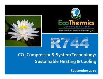 CO Compressor & System Technology