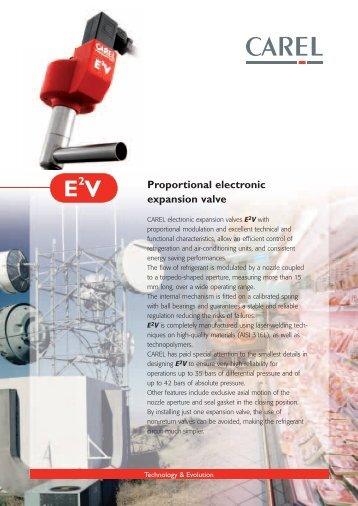 E2V electronic Expansion Valve - Gafco-Altron bv