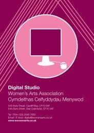 Digital Studio Women's Arts Association ... - Artist Resource Cardiff