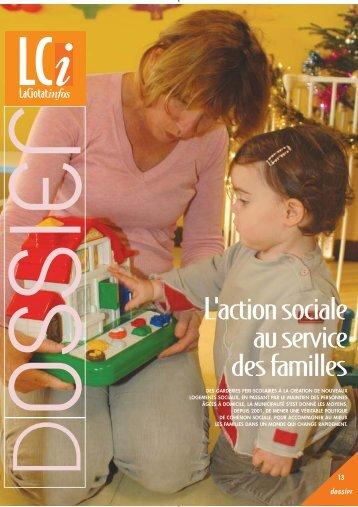 L'action sociale au service des familles