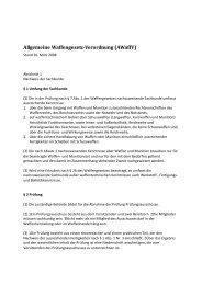 Allgemeine Waffengesetz-Verordnung (AWaffV)