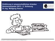 2. Vorlesung Dr.-Ing. Wolfgang Heenes - Ra.informatik.tu-darmstadt ...