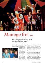 Manege frei … - DJK Sportverband
