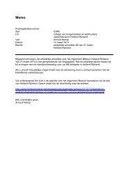 Holland Rijnland annotatie Agenda en stukken AB 27 maart 2013