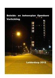 Beleids - Bestuurlijke informatie van de gemeente Leiderdorp