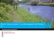 Bijlage 4 Struinroute boekje maart 2013 versie 2 - Deelraad Nieuw ...