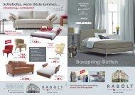 Boxspring-Betten - Rabolt Schlafkultur