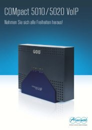 COMpact 5010/5020 VoIP - Auerswald