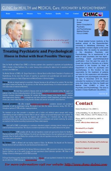 Treating Psychiatric and Psychological Illness in Dubai with Beat Possible Therapy