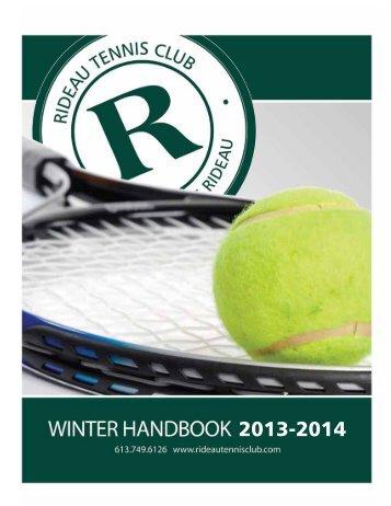 rideau tennis club - RA Centre