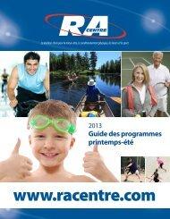 Guide des programmes printemps-été - RA Centre