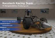 Neues aus dem Verein - racetech
