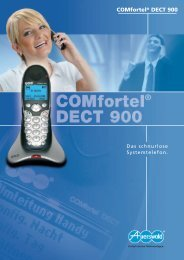 COMfortel® DECT 900 - Auerswald Marketing