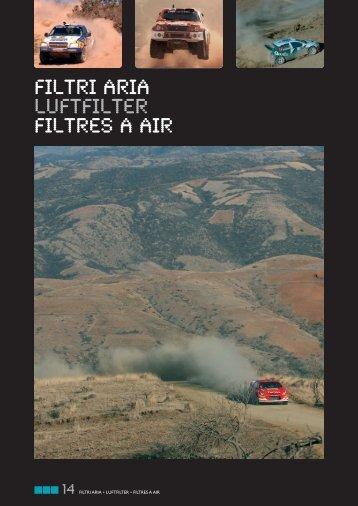 FILTRI ARIA Luftfilter FILTRES A AIR - RacingExpert