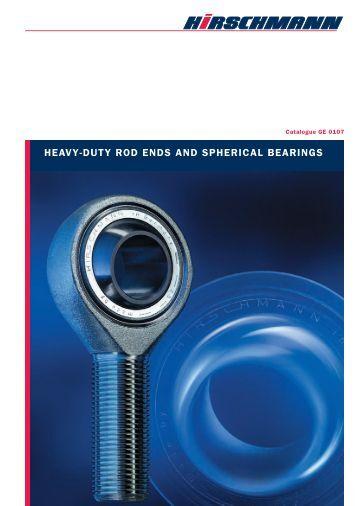 heavy-duty rod ends and spherical bearings - RacingExpert