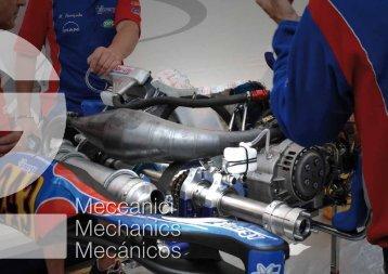 Meccanici Mechanics Mecánicos - RacingExpert