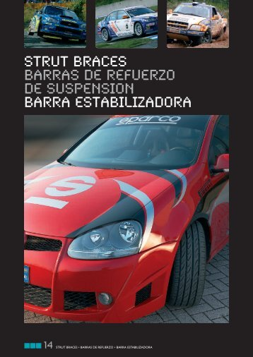 strut braces barras de refuerzo de suspension barra ... - RacingExpert
