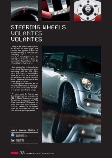 STEERING WHEELS VOLANTES VOLANTES - RacingExpert