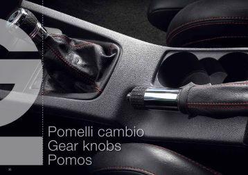 Pomelli cambio Gear knobs Pomos - RacingExpert
