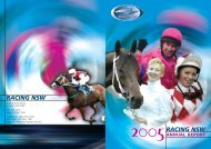 2005 Annual Report - Racing NSW