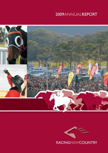 2009 Annual Report - RNSW Country - Racing NSW