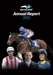 2012 Annual Report - Racing NSW