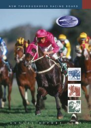 2002 Annual Report - Racing NSW
