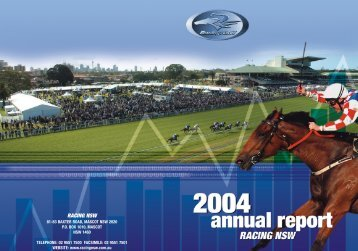 2004 Annual Report - Racing NSW (918KB)